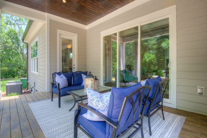 Back Patio Staging TNT