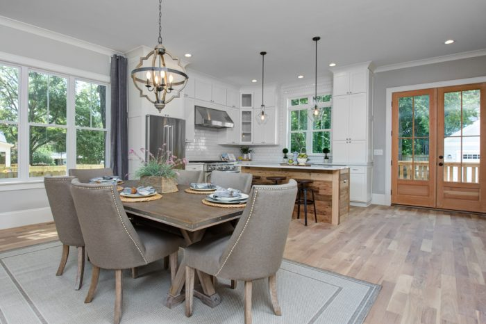 Dining Room Staging Charlotte