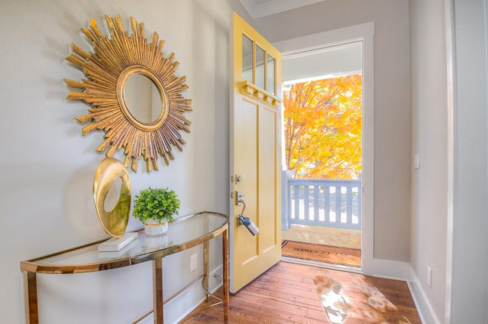 Entryway Staging Charlotte NC